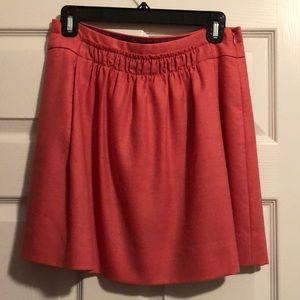 J. Crew mini skirt - pink wool